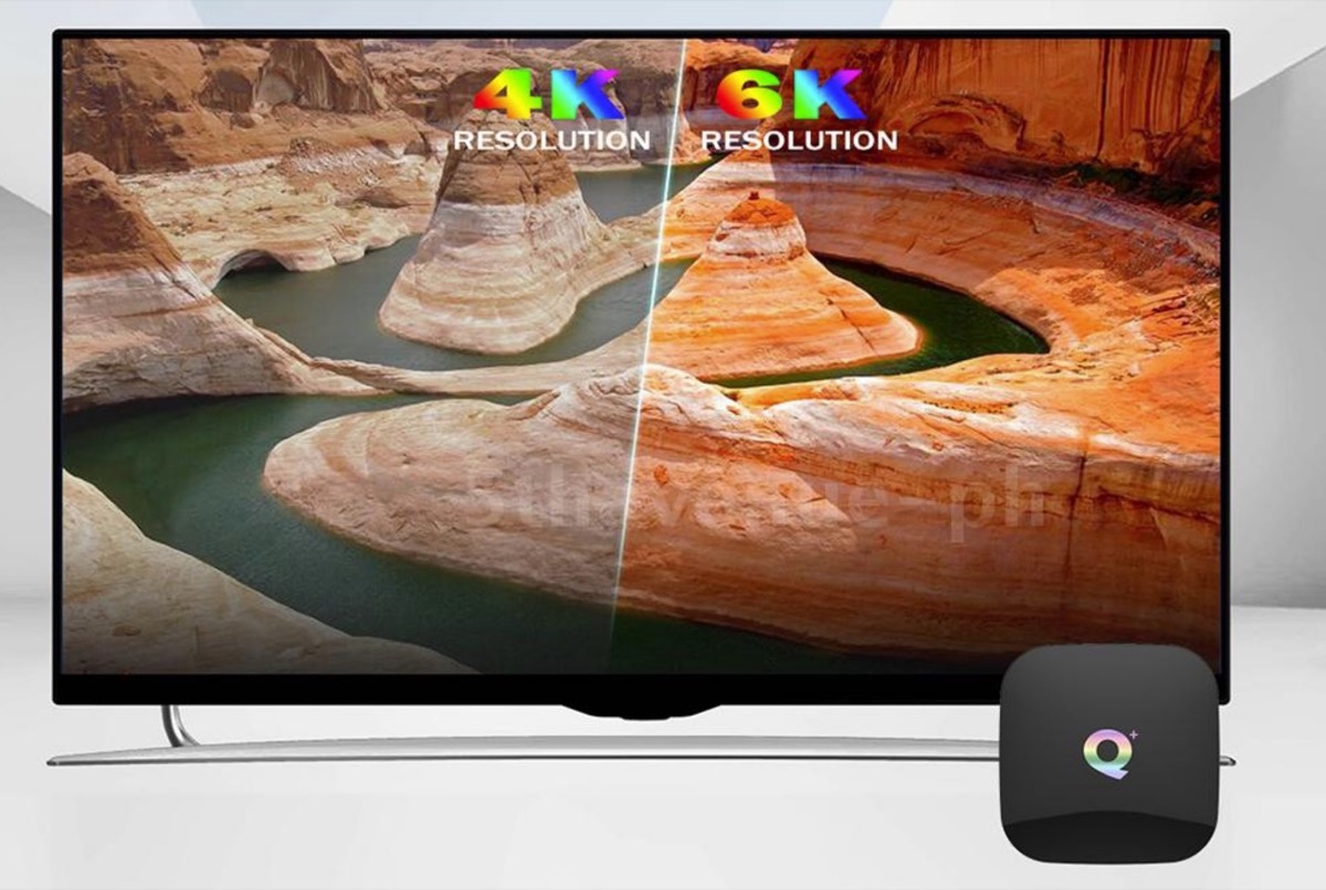 Q Plus, il TV Box Android 9.0 che riproduce i video in 6K