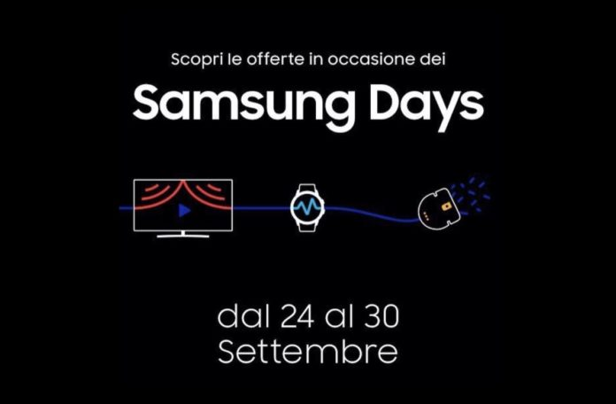 Samsung Days: soundbar, TV e smartphone in sconto su Amazon fino al 30 settembre