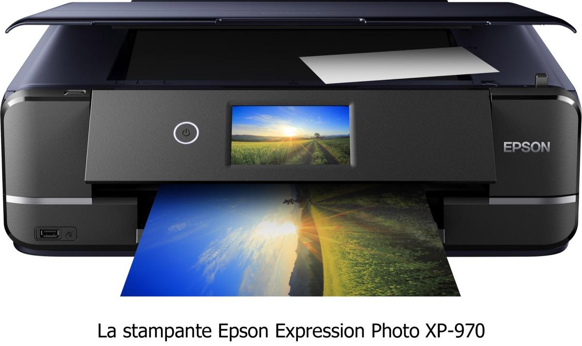 Epson XP-970, la stampa di qualità in A3 direttamente da casa