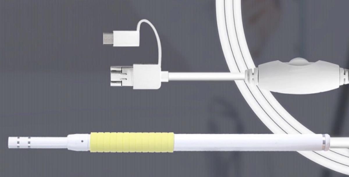 Gocomma AN102, l'endoscopio per la pulizia delle orecchie controllata via smartphone