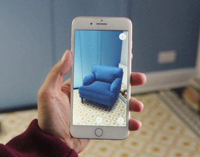 Con l'app IKEA Place le stanze di casa in AR ora le arre