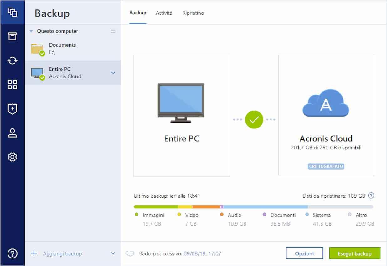 Acronis True Image 2010, nuova versione per la soluzione di backup definitiva