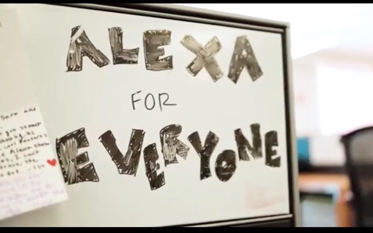 Alexa in aiuto ai non vedenti: identifica per loro gli oggetti
