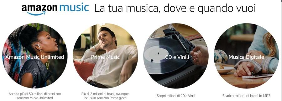 Amazon Music, ora Alexa annuncia i brani e segna i preferiti