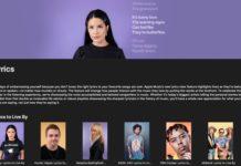 "Apple Music lancia la serie di video ""Lyrics to Live By"""