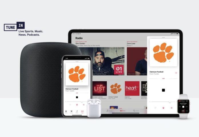 Apple e TuneIn portano oltre 100.000 stazioni radio su tutti i dispositivi con Siri