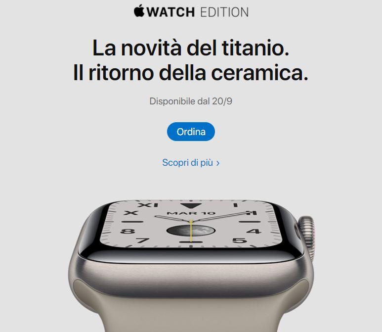 Rivoluzione Apple Watch 5: lo schermo è sempre acceso