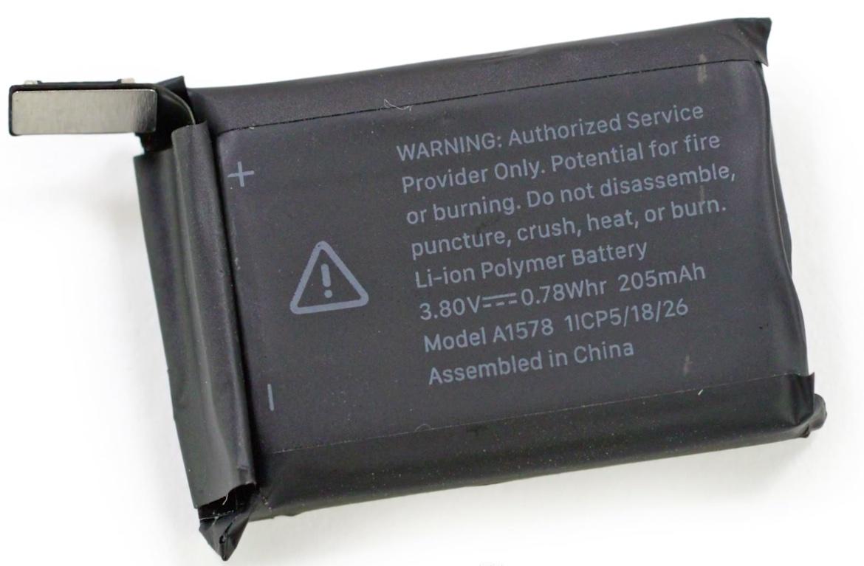 Apple Watch 5 da 40mm ha la batteria del futuro Apple