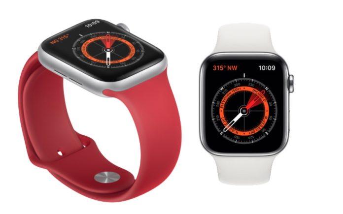 I magneti nei cinturini possono interferire con la bussola di Apple Watch Serie 5