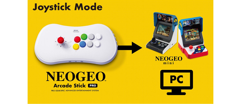 Neo Geo Arcade Stick Pro, la console retrò che sta dentro ad un controller