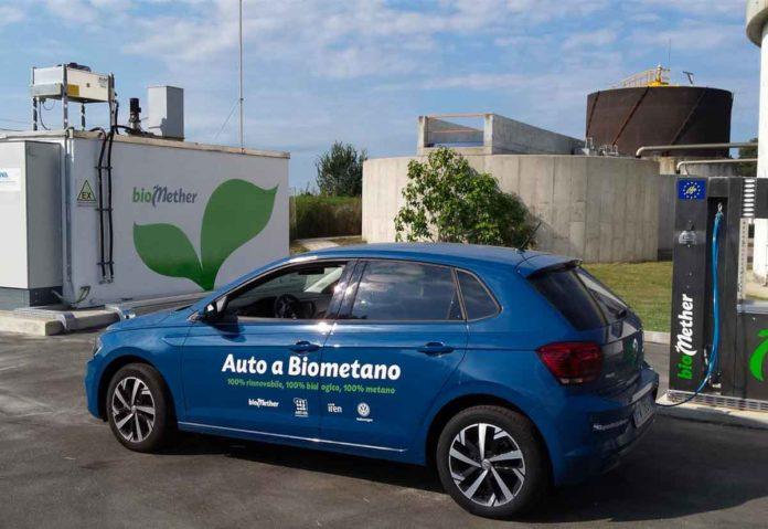 Volkswagen sperimenta in Italia il biometano come combustibile per auto