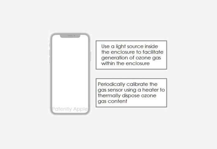Apple ha brevettato un sistema per il rilevamento di gas pericolosi con iPhone