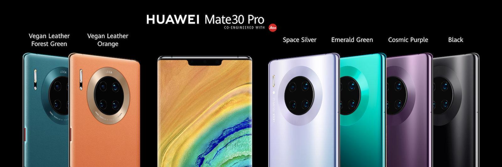 Ecco Huawei Mate 30 e Huawei Mate 30 Pro
