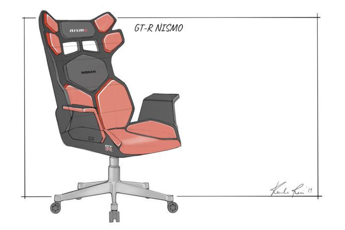 Da Nissan la sedia gaming ispirata alle auto sportive