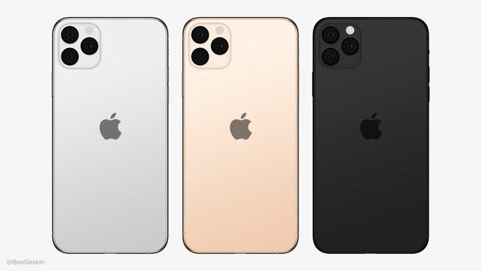 Bloomberg: gli iPhone 2019 avranno il logo Apple centrato sul retro
