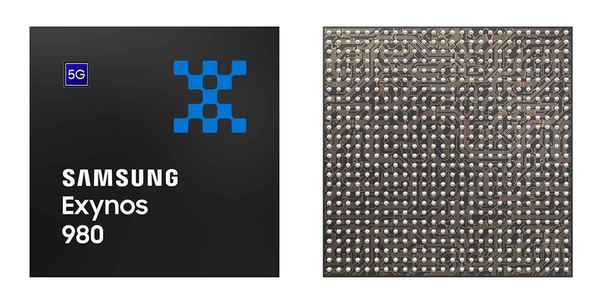 Exynos 980 è il primo processore mobile di Samsung con tecnologia 5G