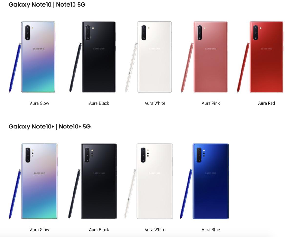 Anticipazione colori iPhone 11 Pro Max, sfumature bicolore come Galaxy Note 10