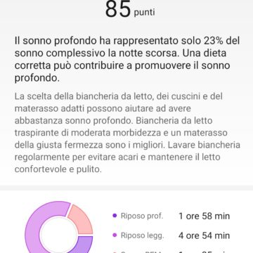 Recensione Honor Band 5