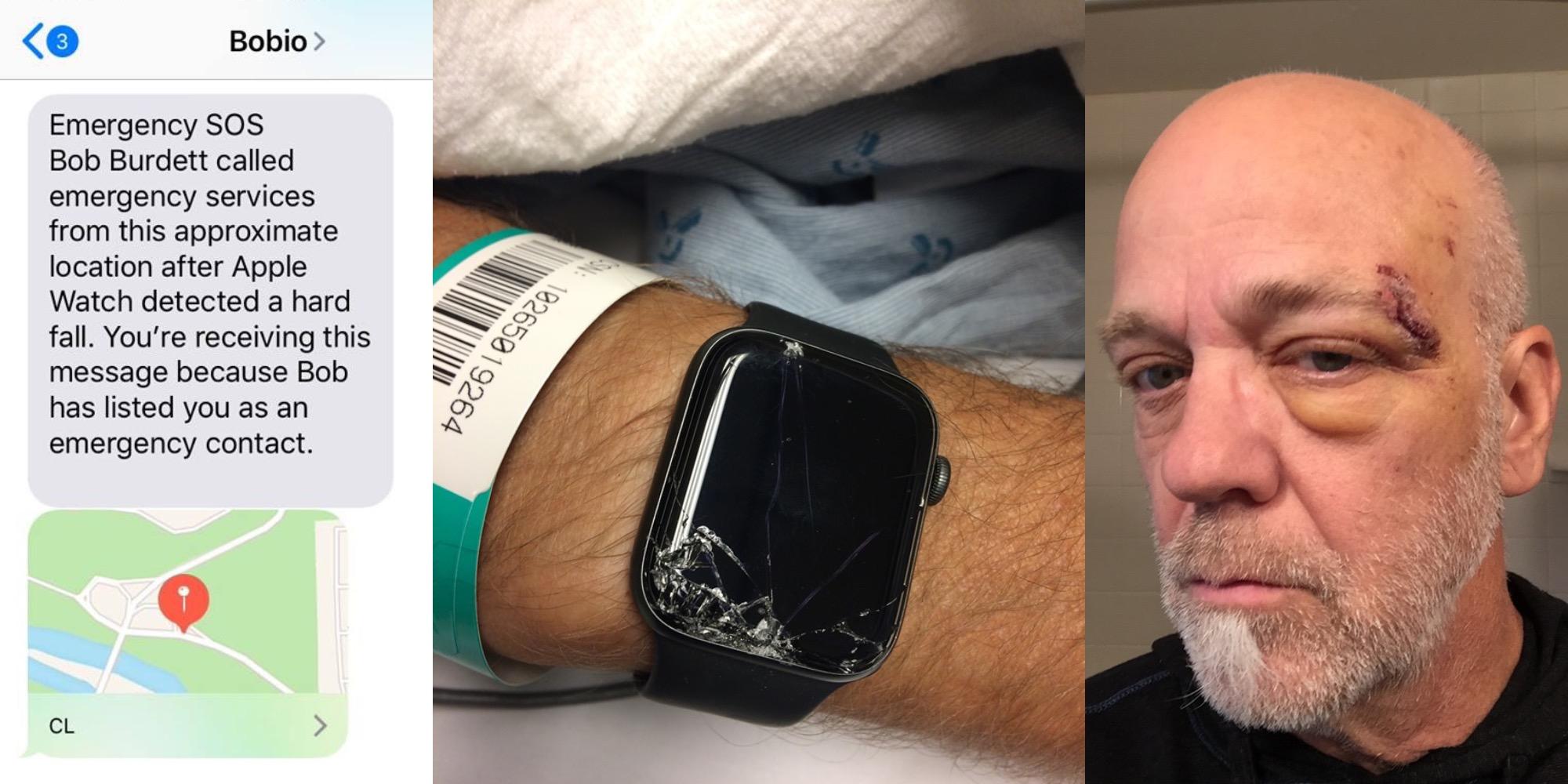 Cade in bici, Apple Watch avvisa il figlio che corre in soccorso