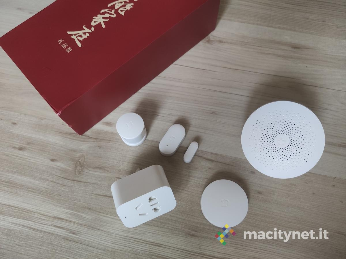 Xiaomi Mijia Smart Socket Set, presa di contatto con il kit per la sicurezza domestica a 360 gradi