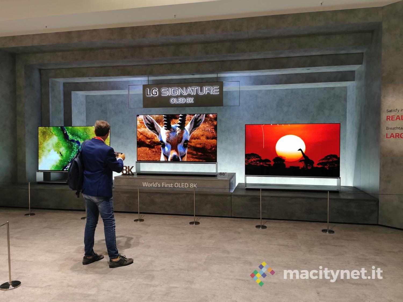 Ecco quanto costano i nuovi TV 8K di LG in arrivo in Italia