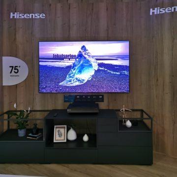 Hisense a IFA 2019 con 85U9E, la TV in 8K