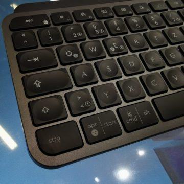 Logitech a IFA 2019 con il mouse MX Master 3 e la tastiera MX Keys