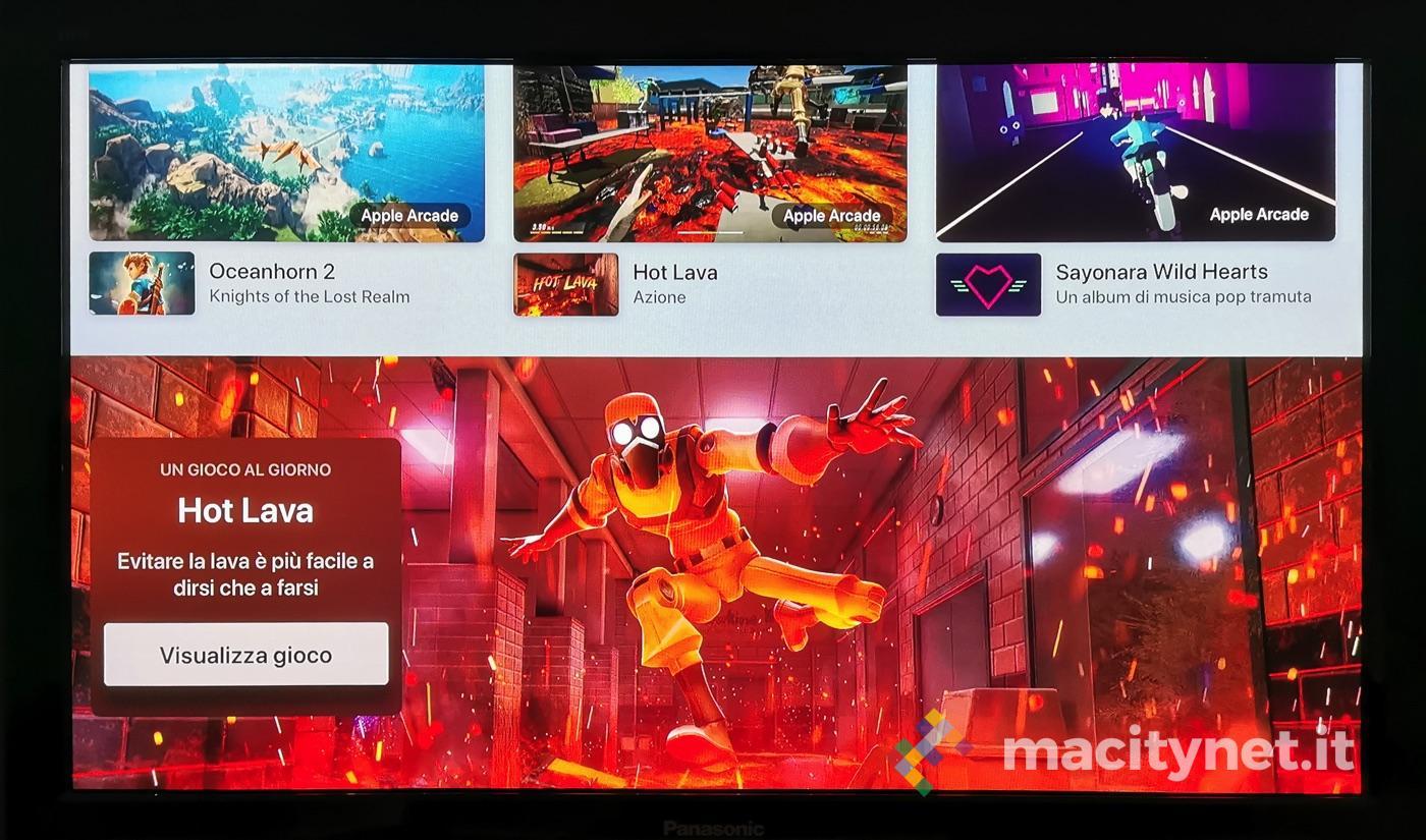 """Apple Arcade si gioca anche su Apple TV: ecco le prime schermate """"italiane"""""""
