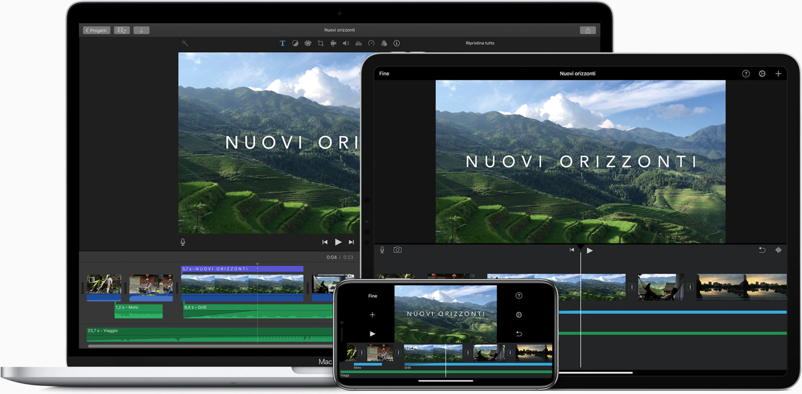 iMovie per iPad e iOS ora supporta unità di storage esterne