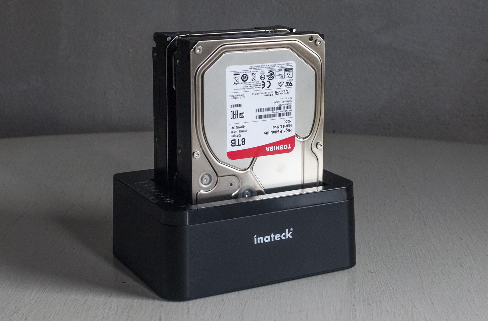Recensione Inateck Docking Station, dischi sempre a posto anche senza Mac
