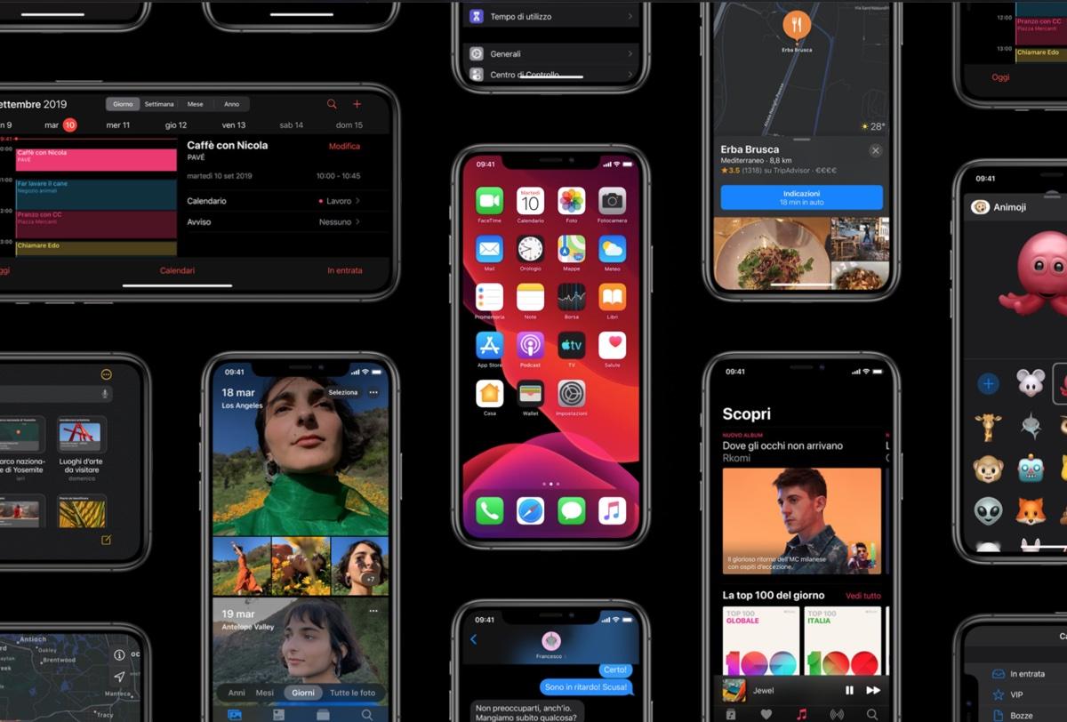 Apple rilascia la terza beta pubblica di iPadOS e iOS 13.1