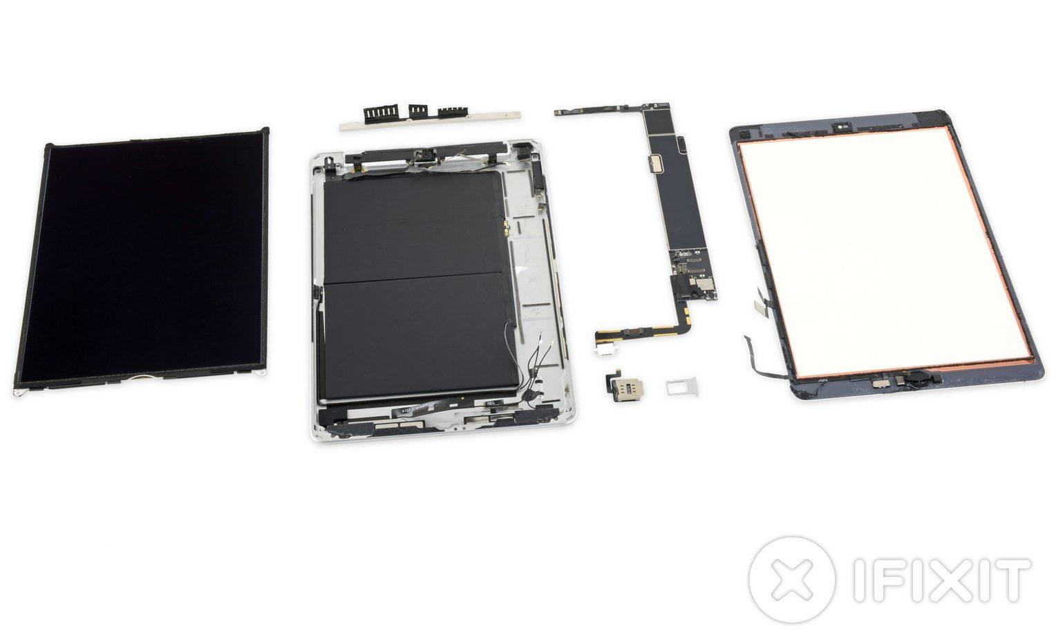 """Il nuovo iPad 10,2"""" smontato conferma 3GB di RAM, voto di riparazione basso"""