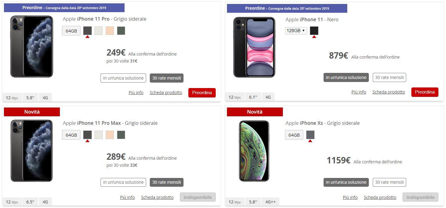 Iliad offre iPhone 11 e iPhone 11 Pro e prezzi vantaggiosi