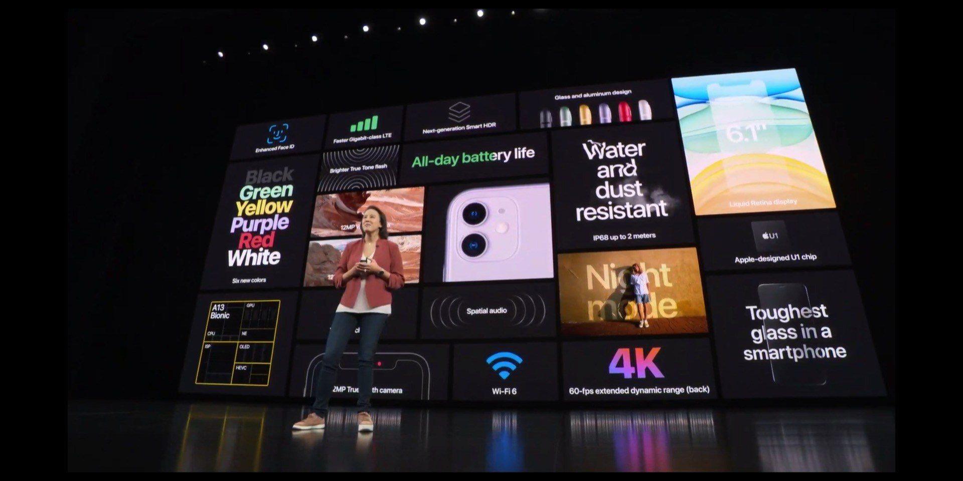 Apple presenta iPhone 11: tutte le novità in sintesi