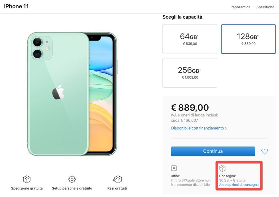 Preordini iPhone 11. Aggiornato: su Apple Store slittano tutti, ultima chance su Amazon