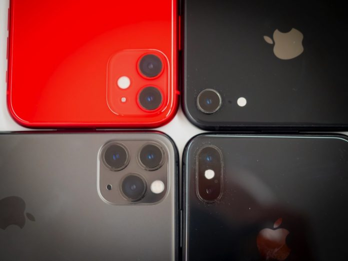 iPhone 11, 11 Pro e 11 Max a confronto con gli altri iPhone
