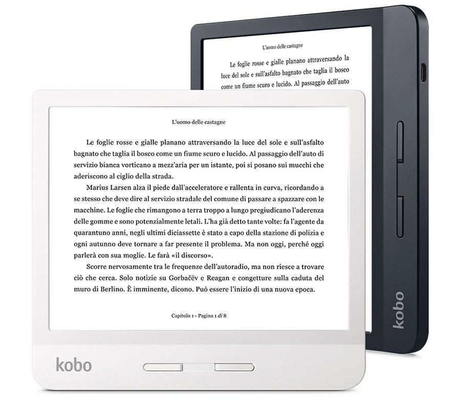 Kobo Libra H2O, il nuovo ereader da 7 pollici sfida il Kindle Oasis II