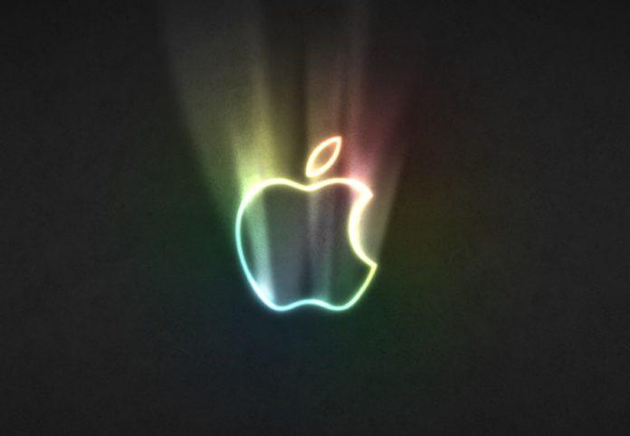 Cupertino studia un logo Apple illuminato, colorato e che lampeggia