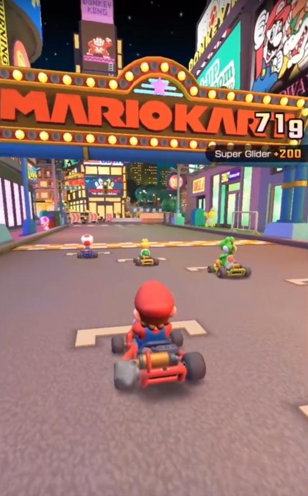 Mario Kart Tour disponibile su iphone, gusci e frenesia corrono su iPhone e Android