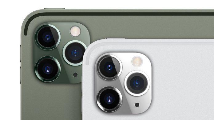 iPad Pro 2019 trasformato in iPhone 11 Pro in un concept