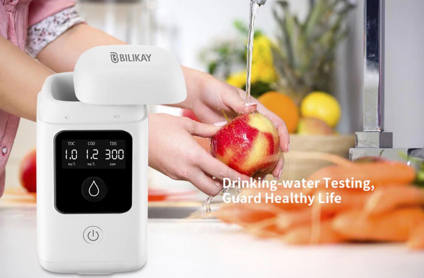 Bilikay W1 Pro, il rilevatore di qualità dell'acqua in offerta a 39 euro