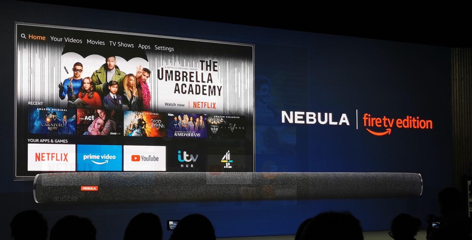 Ad IFA 2019 Amazon svela la soundbar Nebula di Anker che funziona con Fire TV