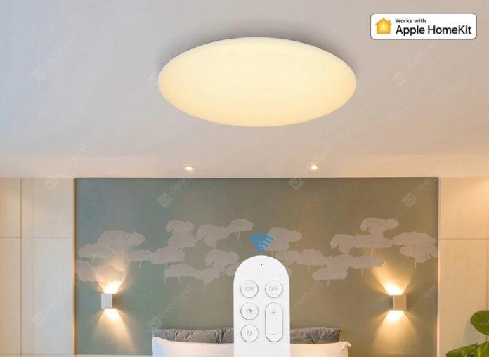 Plafoniere LED Xiaomi Yeelight con Apple HomeKit in super offerta lampo