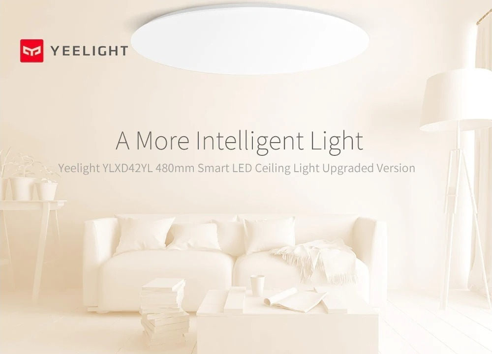 Plafoniere LED Xiaomi con HomeKit in offerta lampo a partire da 72,87 euro