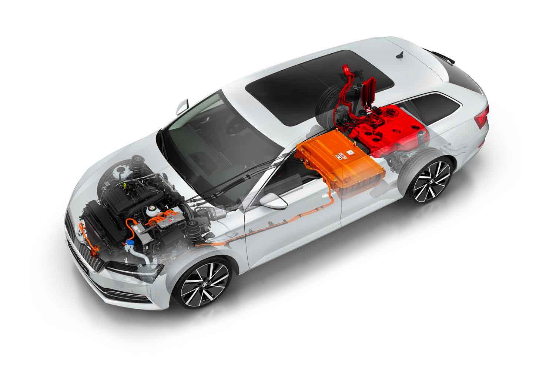 Con SUPERB iV, anche in Italia l'offerta di mobilità elettrificata di SKODA