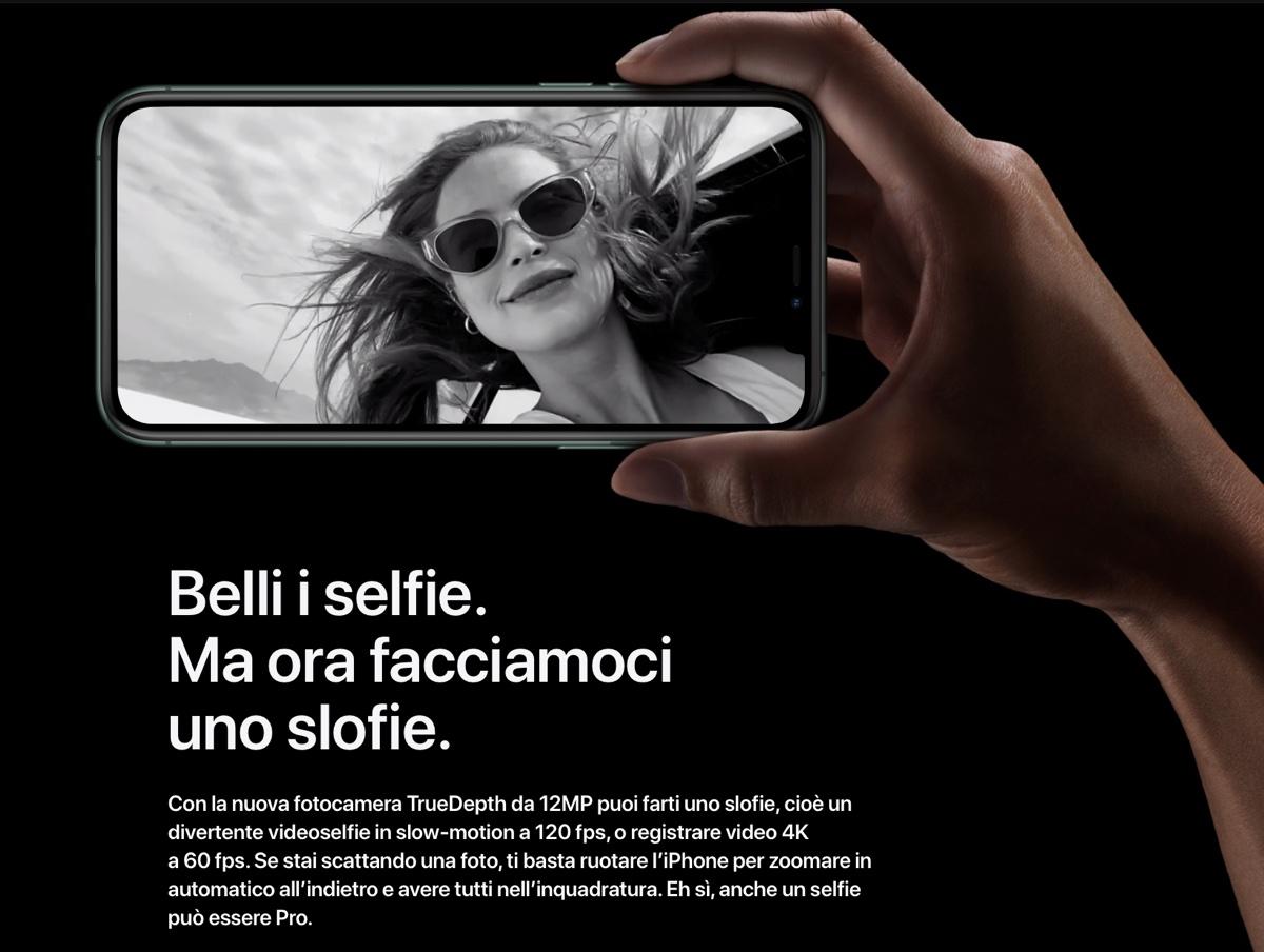 Apple registra il marchio Slofie, i selfie a rallentatore
