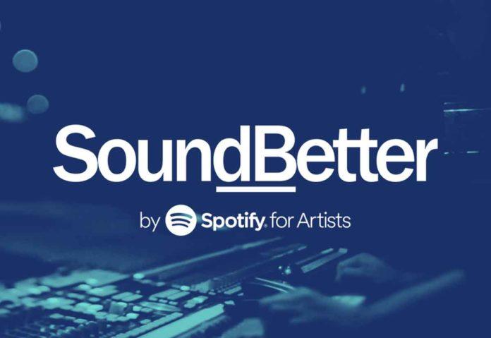 Spotify ha comprato SoundBetter, marketplace di talenti per la produzione di musica e audio