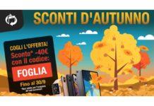 Sconti d'autunno su TrenDevice: -40€ su tutti gli smartphone e tablet ricondizionati