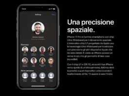 iPhone 11 con chip U1 offre localizzazione Ultra Wideband e potenzia AirDrop