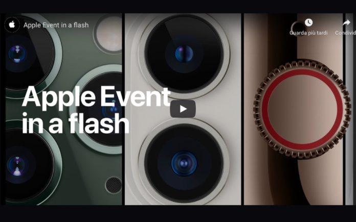 Ecco come rivedere il video completo del keynote di Apple del 10 settembre